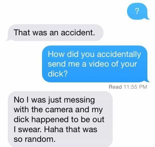 """Because Who Messes with ... is listed (or ranked) 4 on the list """"Accidental"""" Selfies and Texts That Somehow Happened"""