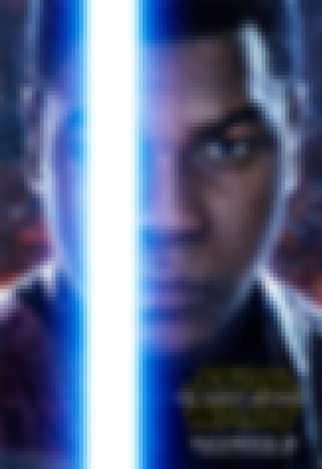 Finn is listed (or ranked) 4 on the list The Best Left Eyes on Star Wars: Force Awakens Posters