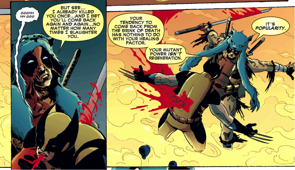 Random Most Messed Up Things Deadpool's Ever Done