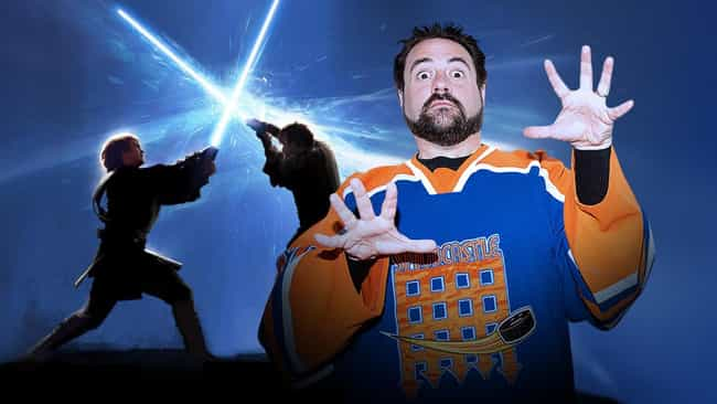 Kevin Smith Has a Line in the ... is listed (or ranked) 3 on the list Things You Should Know About Star Wars: The Force Awakens