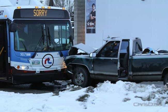 Bus Accidents in Canada is listed (or ranked) 2 on the list 33 Pictures That Prove All Canadians Are Ridiculously Nice