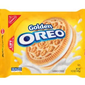 Golden Oreo is listed (or ranked) 4 on the list The Best Oreo Flavors