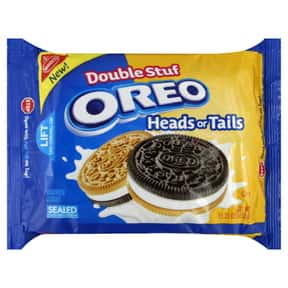 Oreo Heads or Tails is listed (or ranked) 22 on the list The Best Oreo Flavors