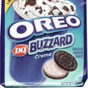 Oreo DQ Blizzard Creme is listed (or ranked) 3 on the list The Best Oreo Flavors