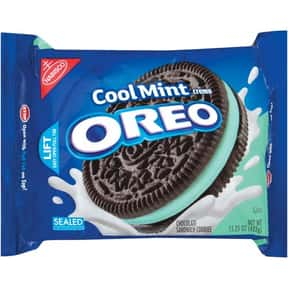Cool Mint Creme Oreo is listed (or ranked) 7 on the list The Best Oreo Flavors