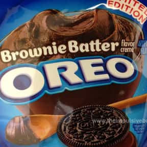 Brownie Batter Oreo is listed (or ranked) 6 on the list The Best Oreo Flavors