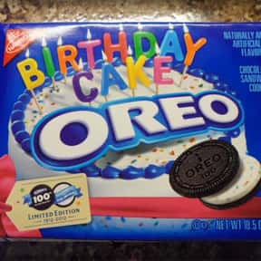 Birthday Cake Oreo is listed (or ranked) 5 on the list The Best Oreo Flavors