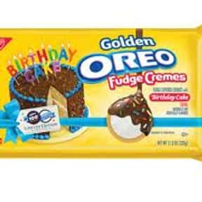 Birthday Cake Oreo - Fudge Dip is listed (or ranked) 13 on the list The Best Oreo Flavors