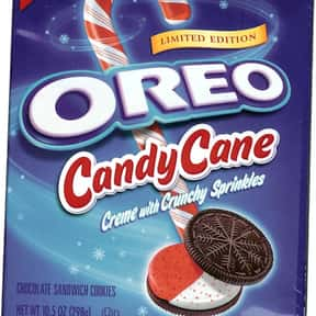 Candy Cane Oreo is listed (or ranked) 23 on the list The Best Oreo Flavors