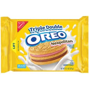 Neapolitan Oreo is listed (or ranked) 24 on the list The Best Oreo Flavors