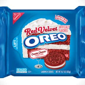 Red Velvet Oreo is listed (or ranked) 8 on the list The Best Oreo Flavors