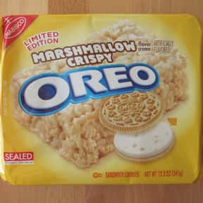 Marshmallow Crispy Oreo is listed (or ranked) 25 on the list The Best Oreo Flavors