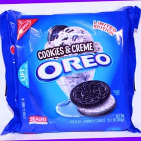 Cookies & Creme Oreo is listed (or ranked) 12 on the list The Best Oreo Flavors
