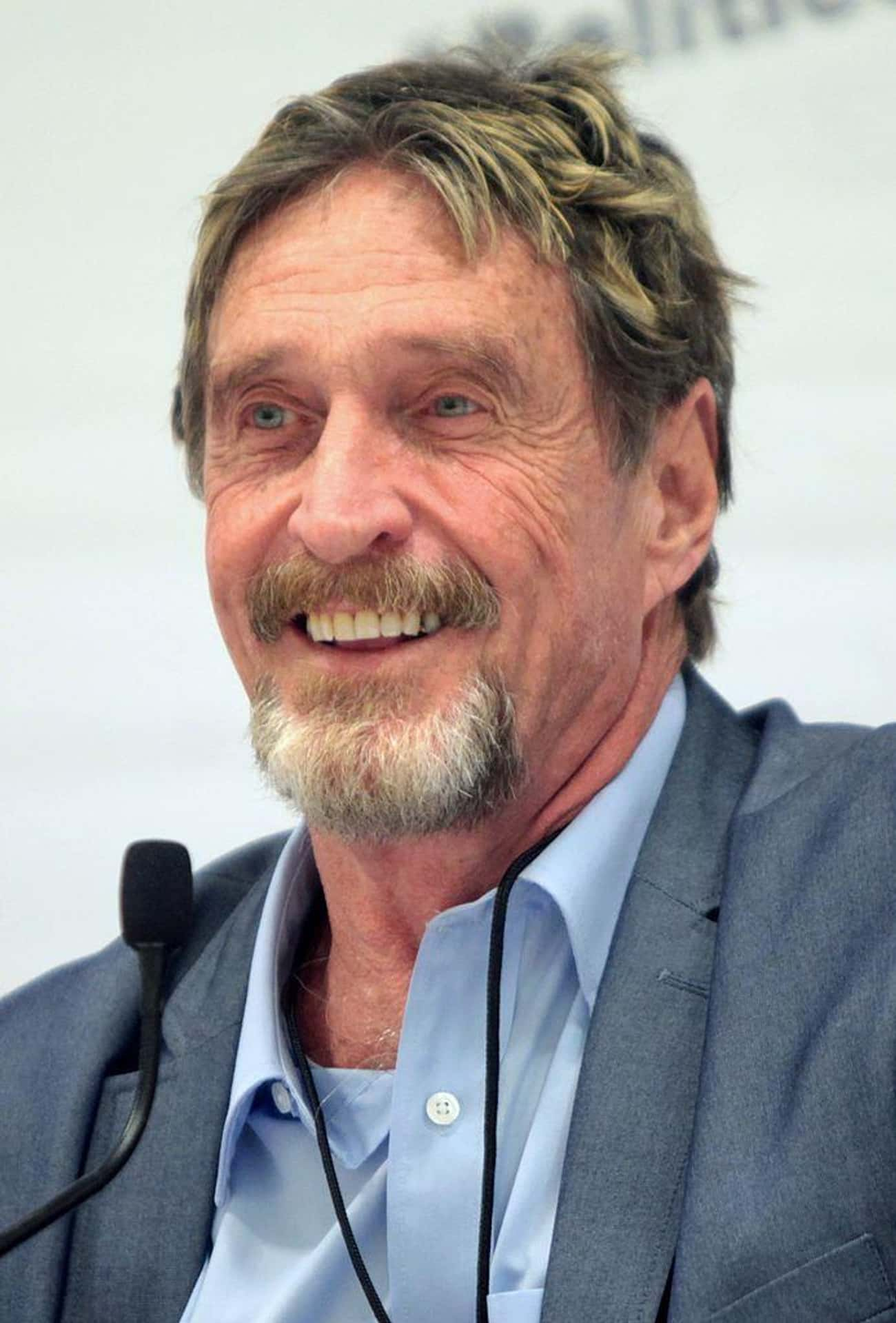 McAfee Anti-Virus Inventor Doesn't Use It