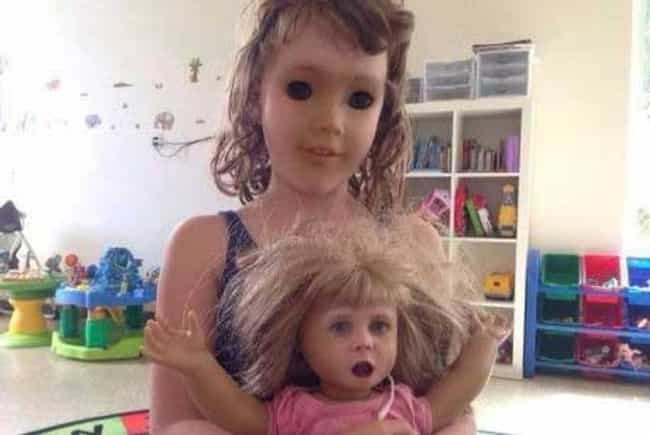 When Chucky Met Sally is listed (or ranked) 1 on the list Disturbing Face Swaps That'll Give You Nightmares Forever