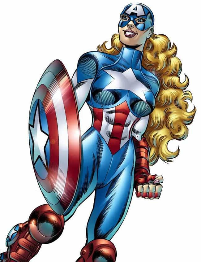 American Dream is listed (or ranked) 5 on the list The 20 Laziest Superhero Gender-Swaps in Comic Books