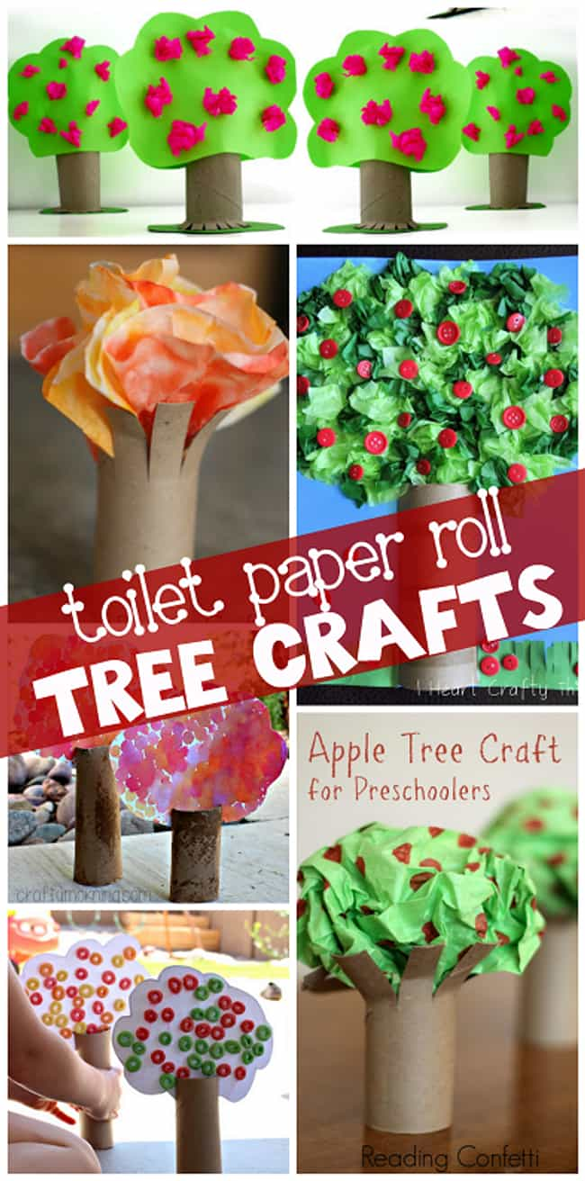 TP Tube Trees is listed (or ranked) 1 on the list Good Crafts for 2 Year Olds