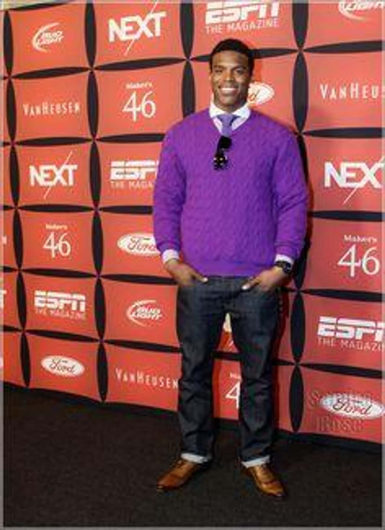 Professor Plum in the Library  is listed (or ranked) 4 on the list Cam Newton's Most Over the Top Fashion Choices