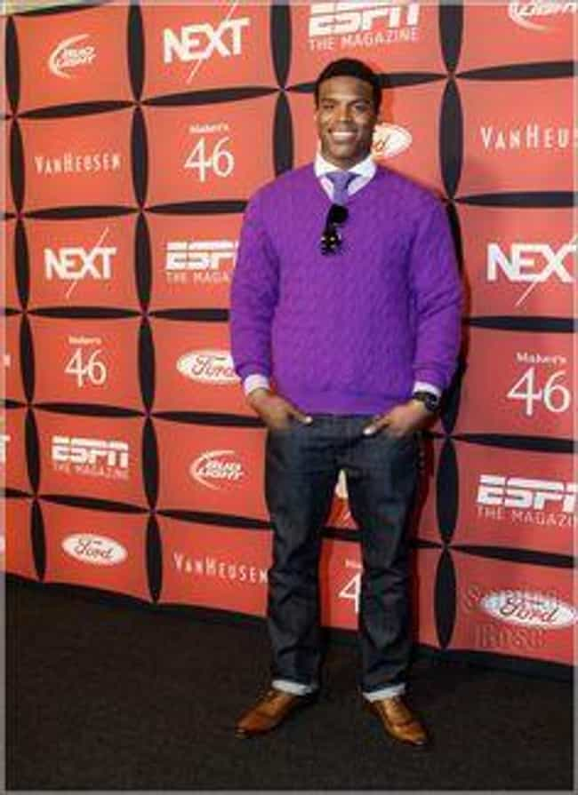 Professor Plum in the Li... is listed (or ranked) 4 on the list Cam Newton's Most Over the Top Fashion Choices
