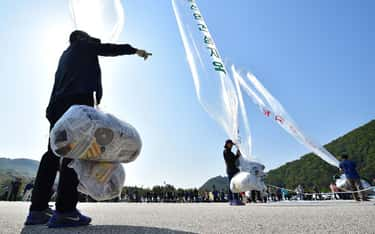 They Attacked South Korea with Poop Balloons