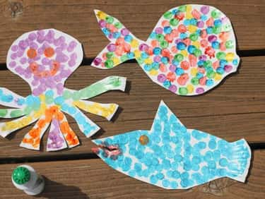 Paper Plate Sea Animal is listed (or ranked) 1 on the list Good Crafts for 3-Year-Olds