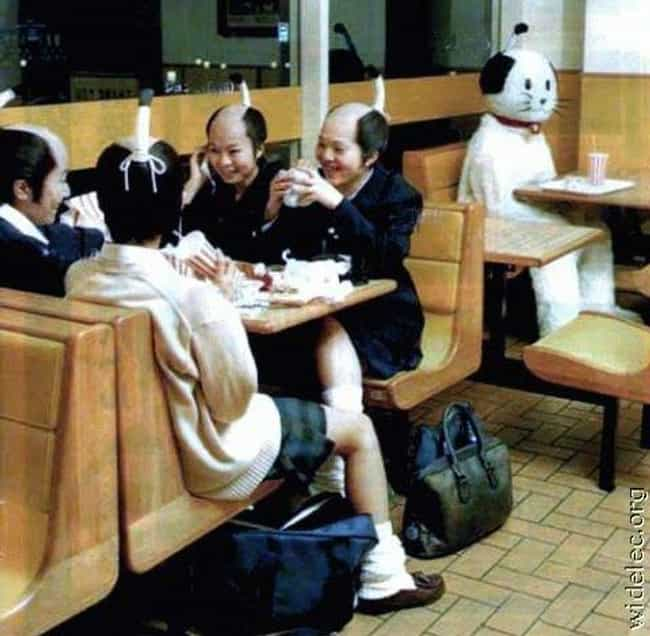 There Is So Much Weird G... is listed (or ranked) 3 on the list The Most WTF Japan Photos Ever