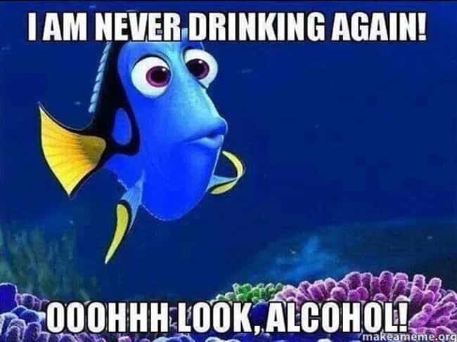 Drinking Like a Fish is listed (or ranked) 1 on the list Funny Quotes That Completely Validate Your Drinking