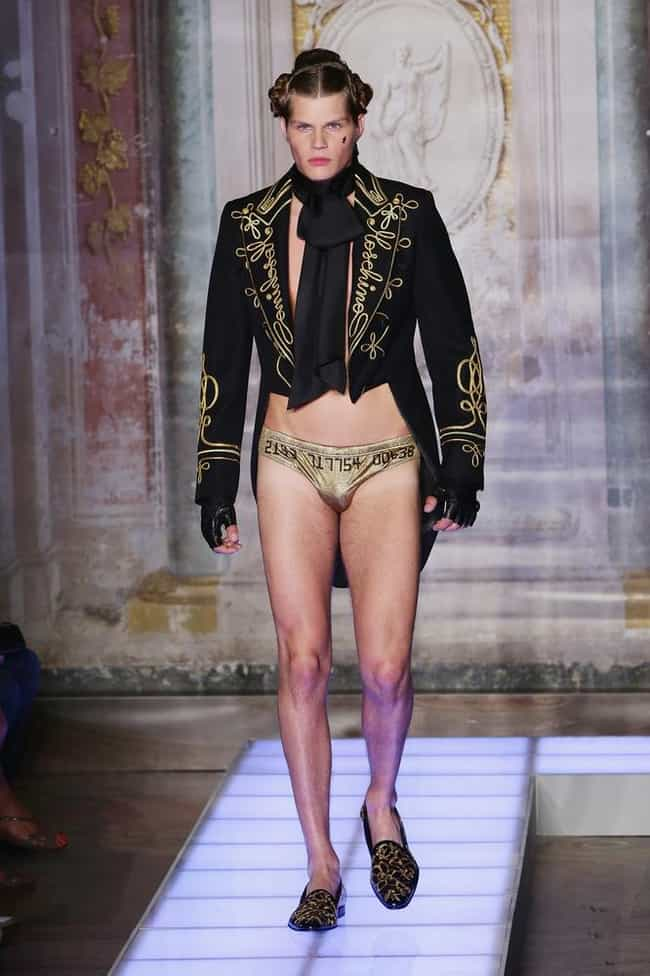 Worst Idea for a Matador... is listed (or ranked) 2 on the list WTF Male Model Runway Pictures That Are Just Baffling