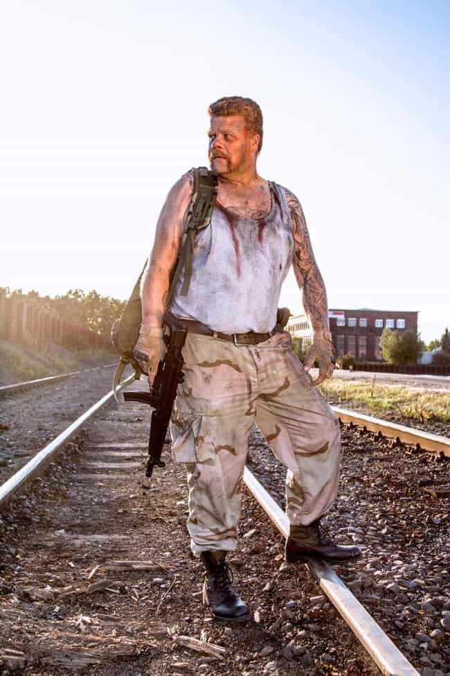 This Guy Is KILLING the Abraha... is listed (or ranked) 1 on the list The Most Eerily Accurate Walking Dead Cosplays