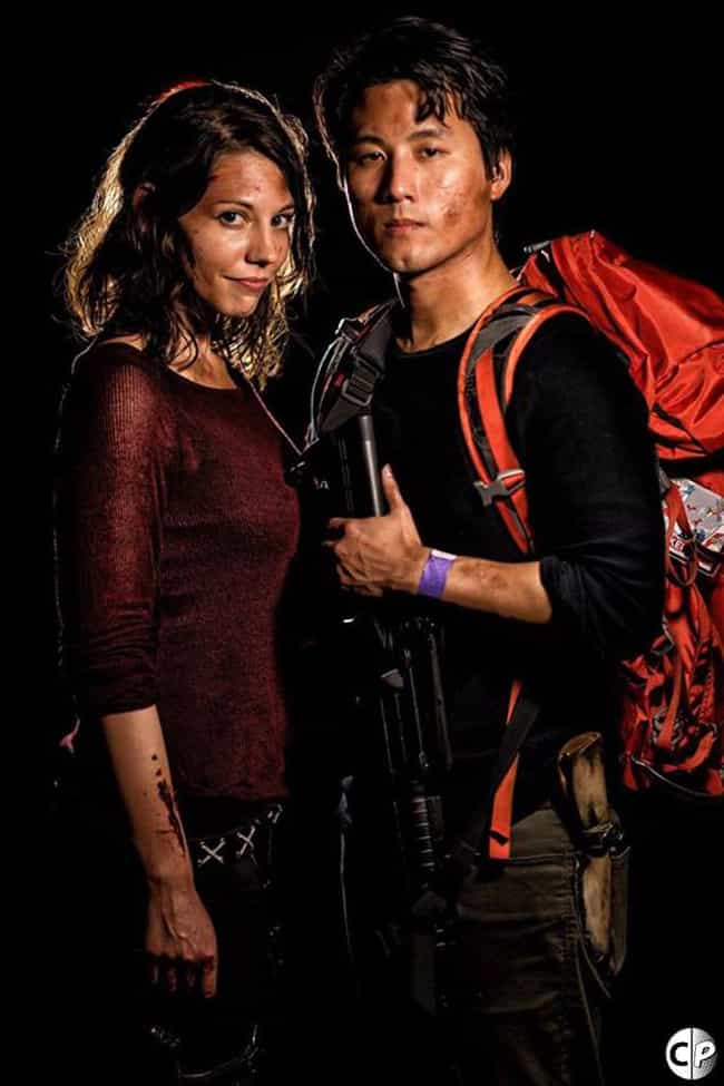 The Best Glenn and Maggie Cosp... is listed (or ranked) 3 on the list The Most Eerily Accurate Walking Dead Cosplays