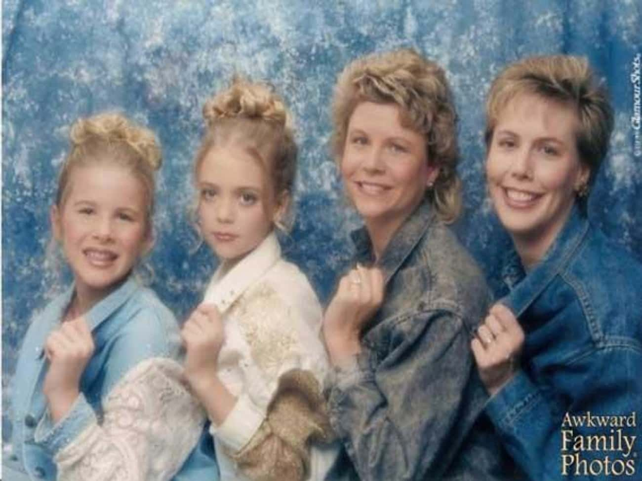 The Blues Sisters is listed (or ranked) 3 on the list Denim Glamour Shots That Won the Internet