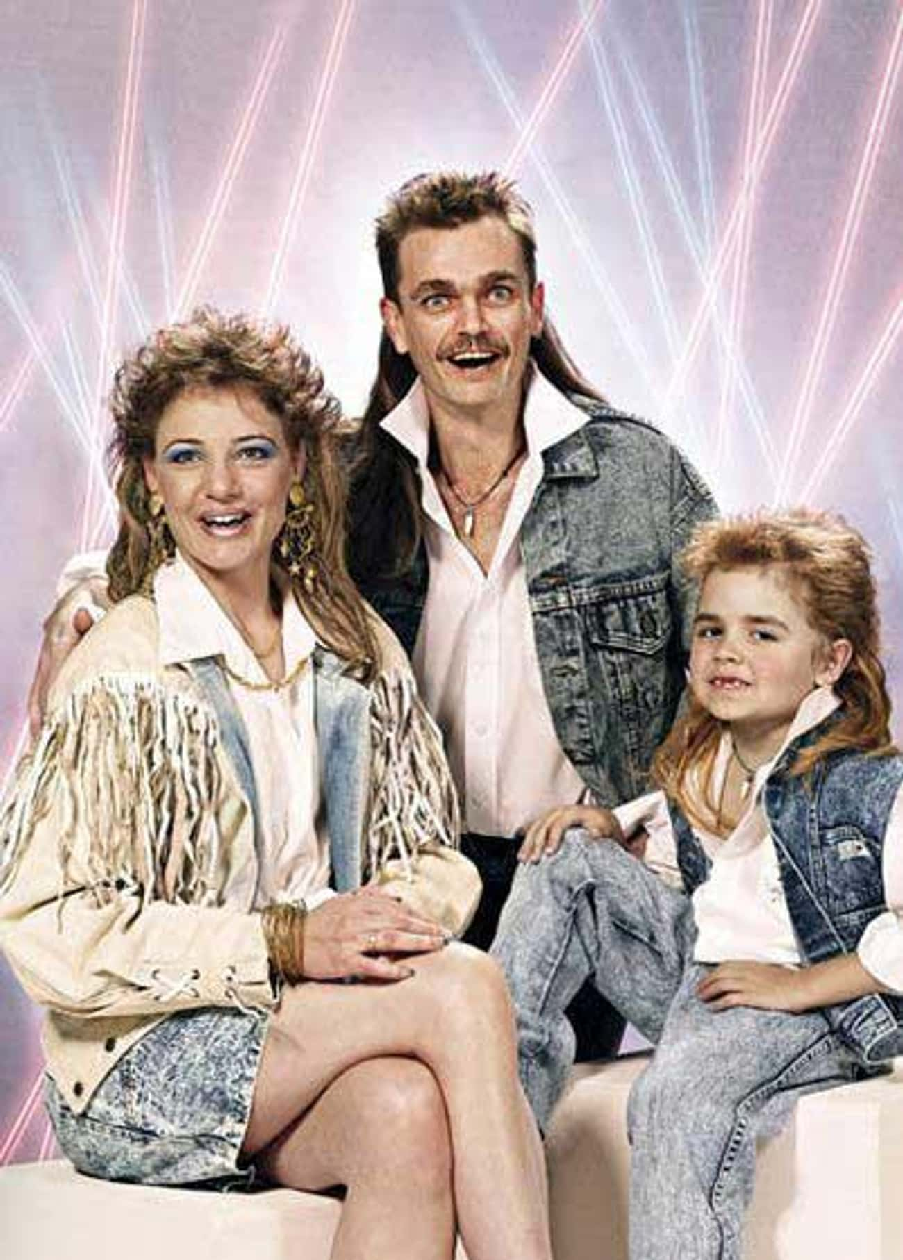 That Mullet Goes Perfectly Wit is listed (or ranked) 2 on the list Denim Glamour Shots That Won the Internet