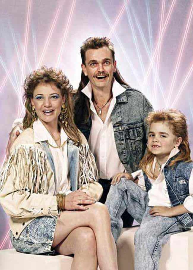 That Mullet Goes Perfect... is listed (or ranked) 1 on the list Denim Glamour Shots That Won the Internet