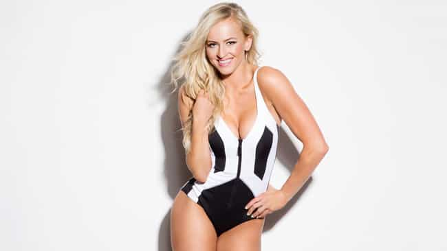 Summer Rae in her black and wh... is listed (or ranked) 2 on the list The Hottest Summer Rae Pics Ever, Ranked