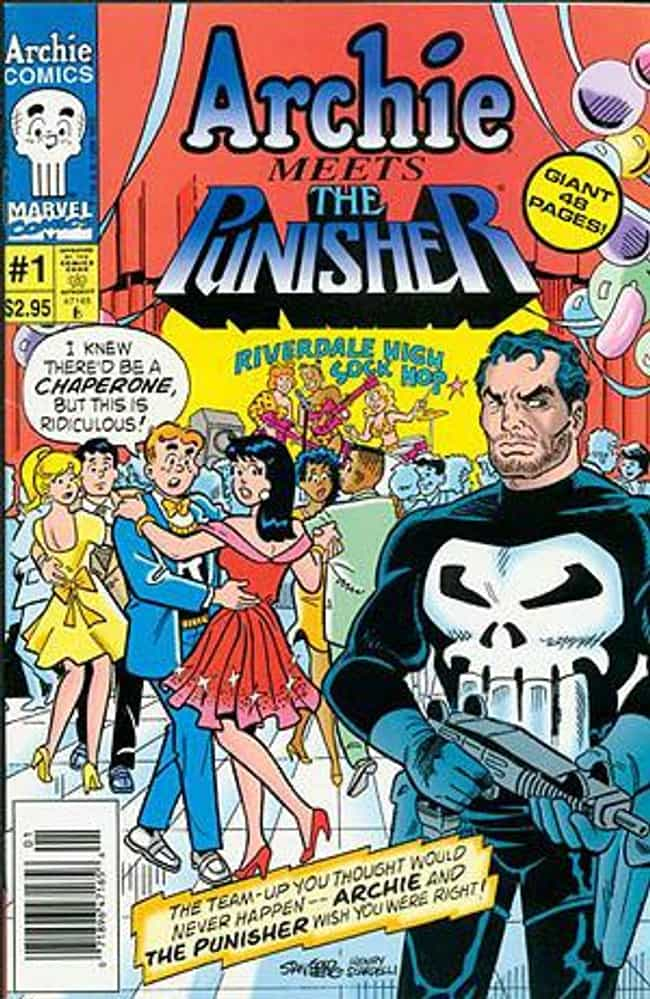 Archie Meets the Punishe... is listed (or ranked) 2 on the list Archie Comics That Prove Archie Is Smarter Than You Think