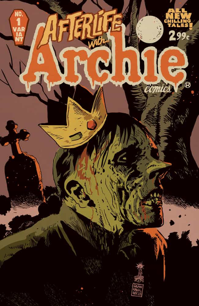 Afterlife with Archie is listed (or ranked) 3 on the list Archie Comics That Prove Archie Is Smarter Than You Think