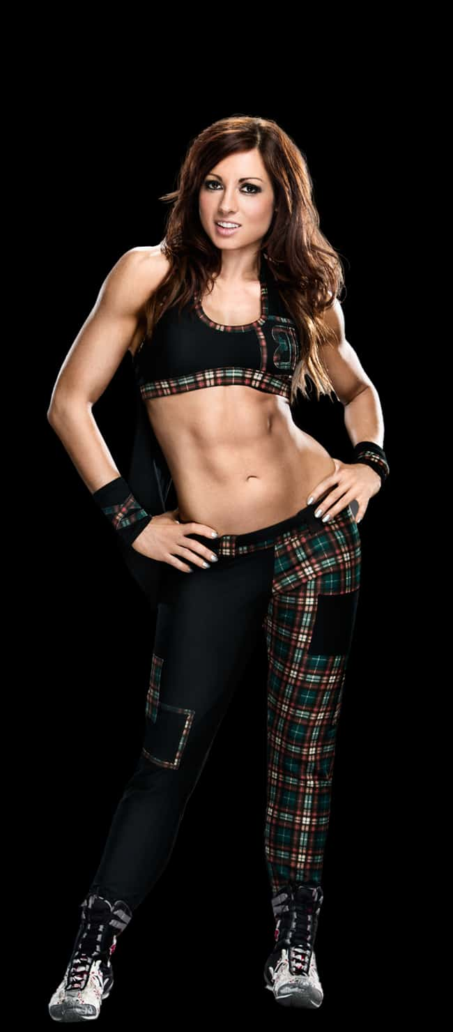 Becky Lynch in her Checkered O is listed (or ranked) 6 on the list The Hottest Becky Lynch Pics Ever, Ranked