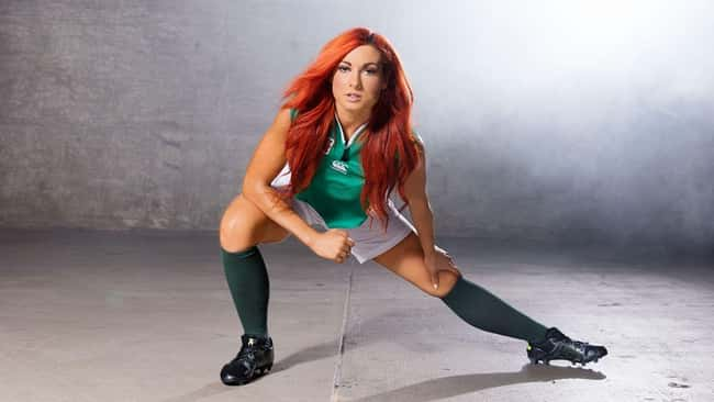 Stretching! is listed (or ranked) 14 on the list The Hottest Becky Lynch Pics Ever, Ranked