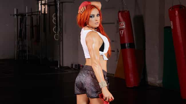 Workout Sweat is listed (or ranked) 1 on the list The Hottest Becky Lynch Pics Ever, Ranked
