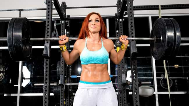 Date a girl with abs is listed (or ranked) 3 on the list The Hottest Becky Lynch Pics Ever, Ranked