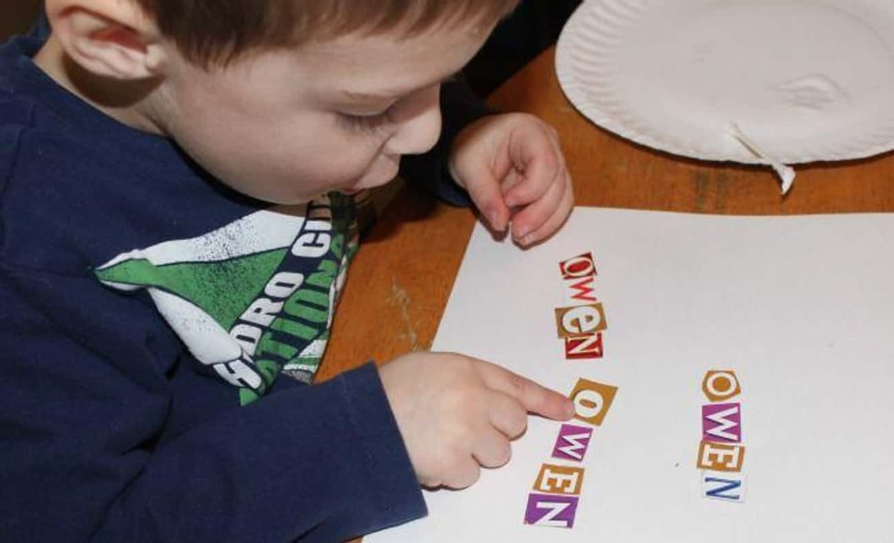 Spell Your Name With Cereal Bo is listed (or ranked) 3 on the list Good Activities for 4 Year Olds