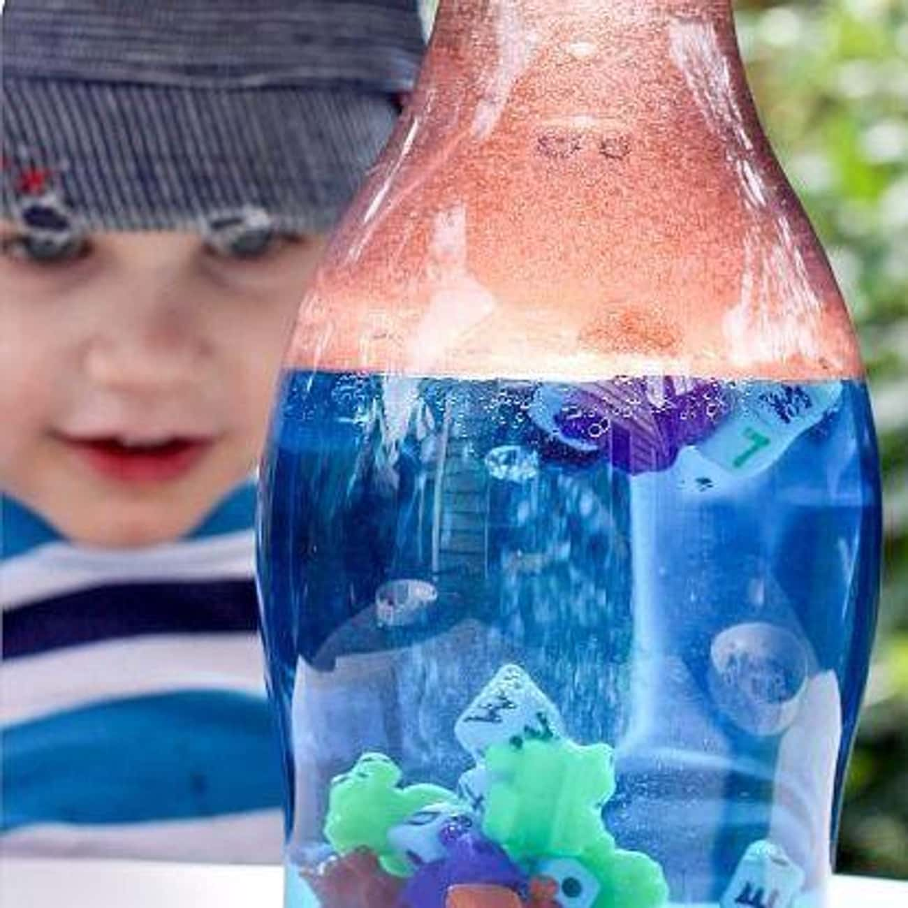 Create Oil And Water Discovery is listed (or ranked) 4 on the list Good Activities for 4 Year Olds