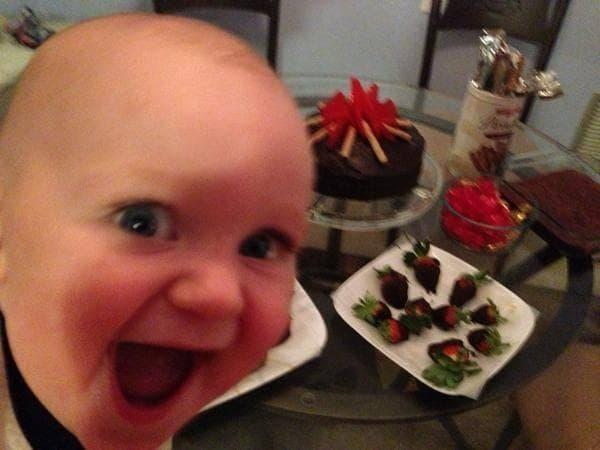 Random Adorable Photos of Kid Firsts