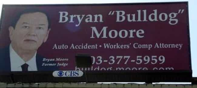 All Bark, No Bite is listed (or ranked) 24 on the list Funny Billboards for Lawyers You'd Never Hire