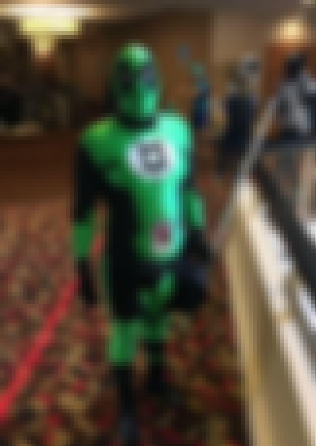 Green Lantern Cannot Escape Re... is listed (or ranked) 4 on the list The Coolest Easter Eggs in Deadpool