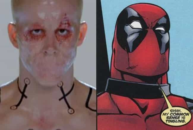 All of Those Lips Are Se... is listed (or ranked) 4 on the list The Coolest Easter Eggs in Deadpool