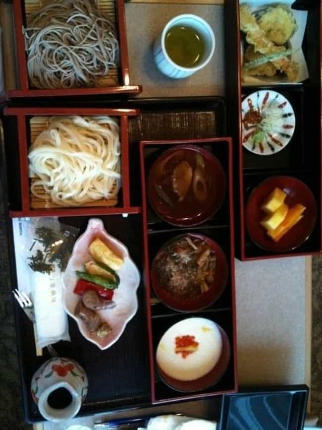 Japan is listed (or ranked) 2 on the list Here's What Hospital Food Looks Like Around the World