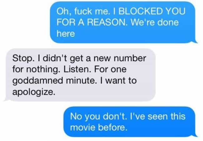 Scary Texts from Crazy Ex Girlfriends