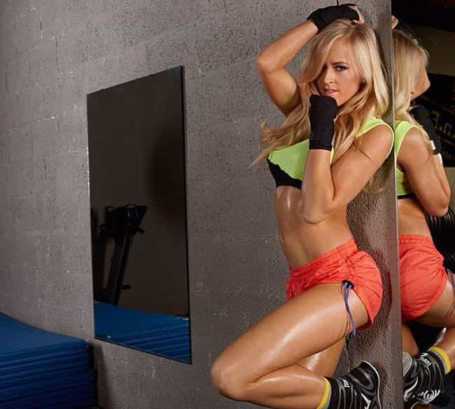 Fit and Ready is listed (or ranked) 4 on the list The Hottest Summer Rae Pics Ever, Ranked