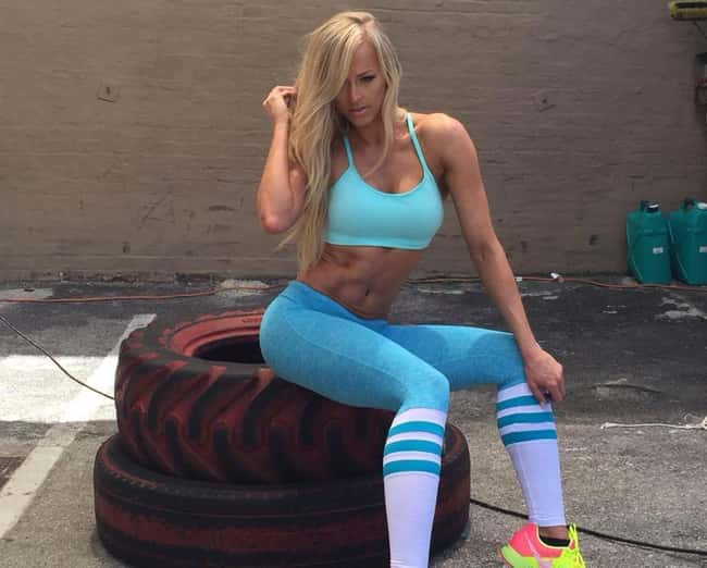 Throw the Tires is listed (or ranked) 11 on the list The Hottest Summer Rae Pics Ever, Ranked